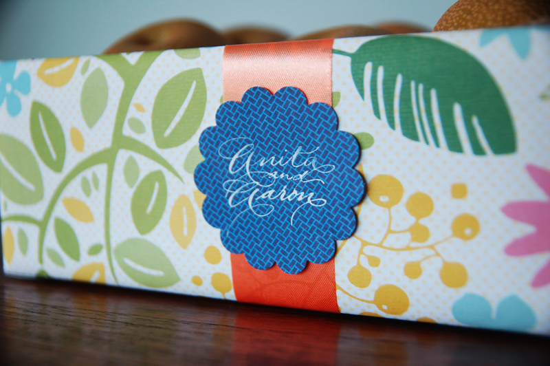 Calligraphed Gift Tag
