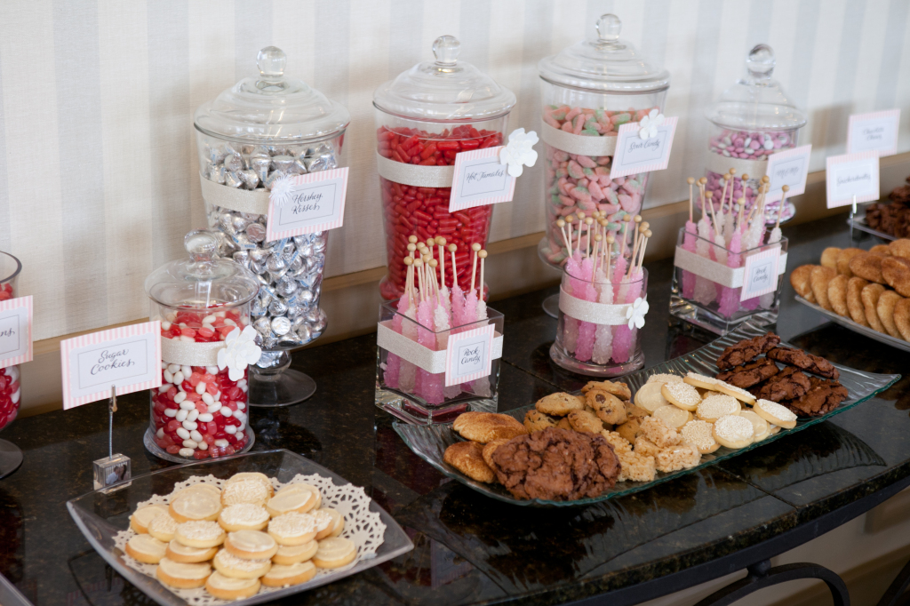 And here is the fun Candy & Cookies table